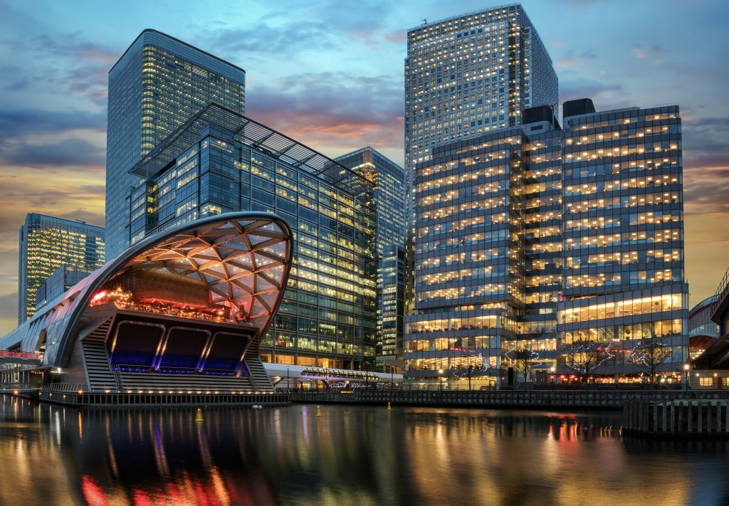 Canary Wharf Continues to Grow as a London's Second Financial Center